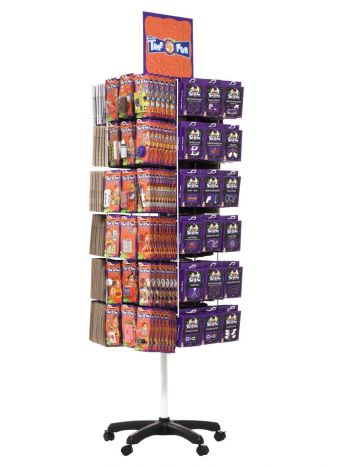 Joke Spinner Display Unit, 72 Hook