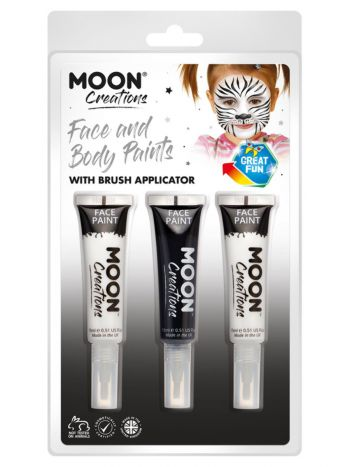 Moon Creations Face & Body Paints and Brush
