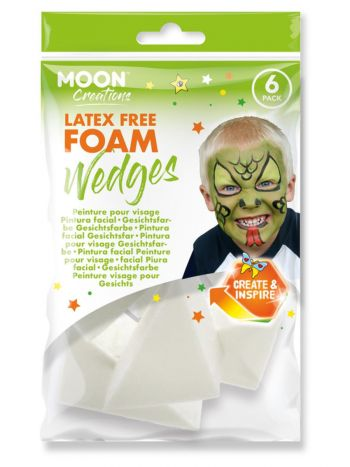 Moon Creations Latex Free Foam Wedge,