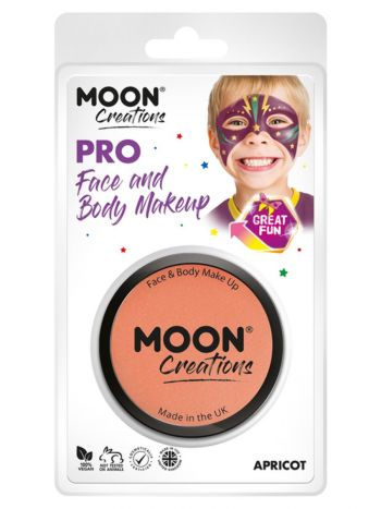 Moon Creations Pro Face Paint Cake Pot, Pastel Cor