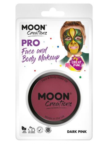 Moon Creations Pro Face Paint Cake Pot, Pink