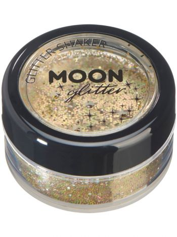 Moon Glitter Holographic Glitter Shakers, Gold