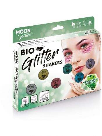 Moon Glitter Bio Glitter Shakers, Assorted