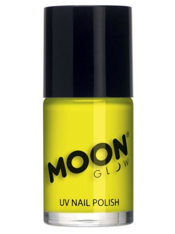 Moon Glow Intense Neon UV Nail Polish, Neon Yellow