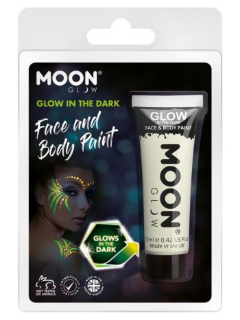Moon Glow - Glow in the Dark Face Paint, Clear