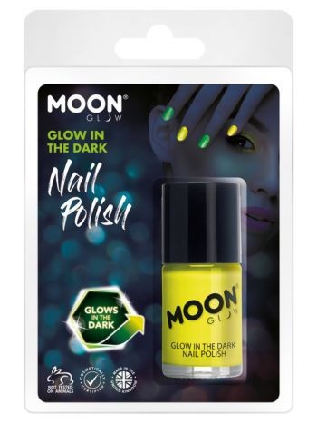 Moon Glow - Glow in the Dark Nail Polish, Yellow