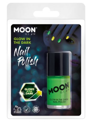 Moon Glow - Glow in the Dark Nail polish, Green