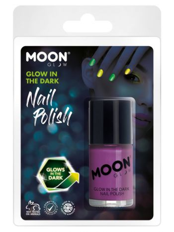 Moon Glow - Glow in the Dark Nail Polish, Purple