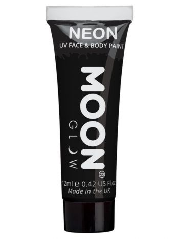 Moon Glow Pastel Neon UV Face Paint, Black