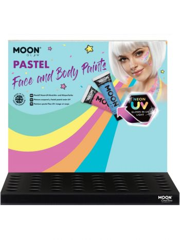 Moon Glow Pastel Neon UV Face Paint,