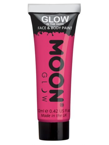 Moon Glow - Glow in the Dark Face Paint, Pink