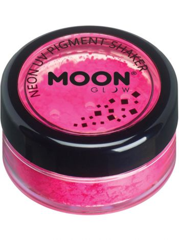 Moon Glow Intense Neon UV Pigment Shakers, Hot Pin