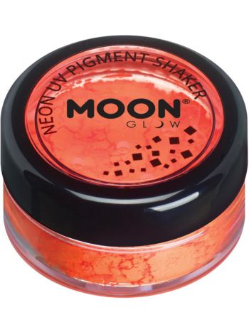 Moon Glow Intense Neon UV Pigment Shakers, Orange