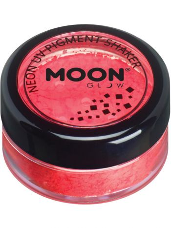 Moon Glow Intense Neon UV Pigment Shakers, Red