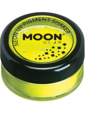 Moon Glow Intense Neon UV Pigment Shakers, Yellow
