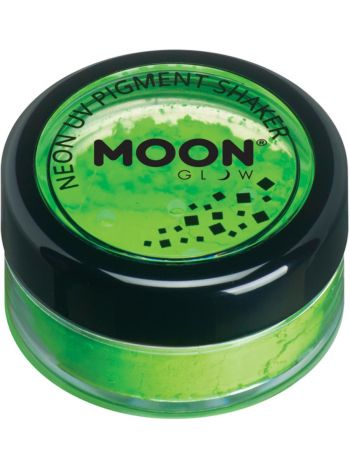Moon Glow Intense Neon UV Pigment Shakers, Green