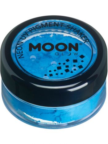 Moon Glow Intense Neon UV Pigment Shakers, Blue
