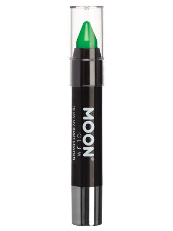 Moon Glow Intense Neon UV Body Crayons, Green