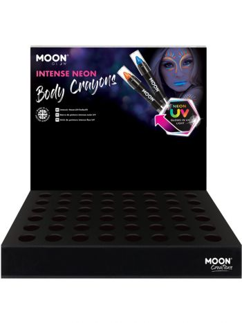 Moon Glow Intense Neon UV Body Crayons,