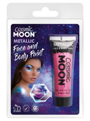 Cosmic Moon Metallic Face & Body Paint, Pink