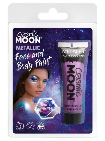 Cosmic Moon Metallic Face & Body Paint, Purple