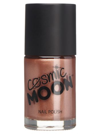 Cosmic Moon Metallic Nail Polish, Rose Gold