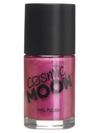 Cosmic Moon Metallic Nail Polish, Pink