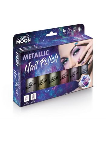 Cosmic Moon Metallic Nail Polish, Assorted