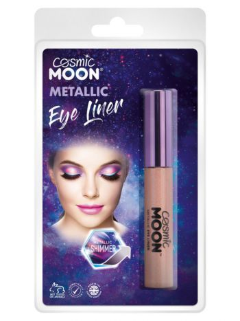 Cosmic Moon Metallic Eye Liner, Rose Gold