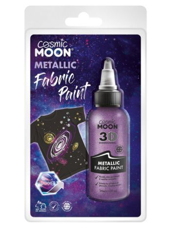 Cosmic Moon Metallic Fabric Paint