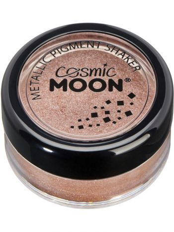 Cosmic Moon Metallic Pigment Shaker, Rose Gold