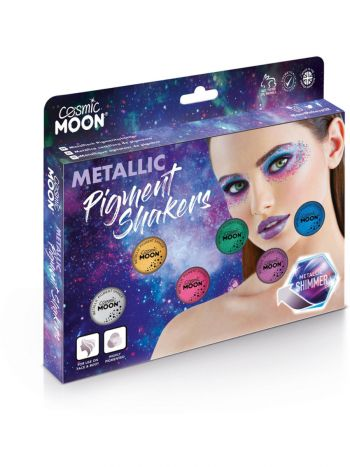 Cosmic Moon Metallic Pigment Shaker, Assorted