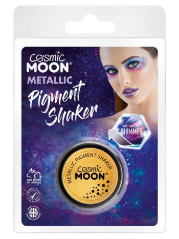 Cosmic Moon Metallic Pigment Shaker, Gold