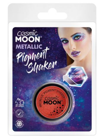 Cosmic Moon Metallic Pigment Shaker, Red