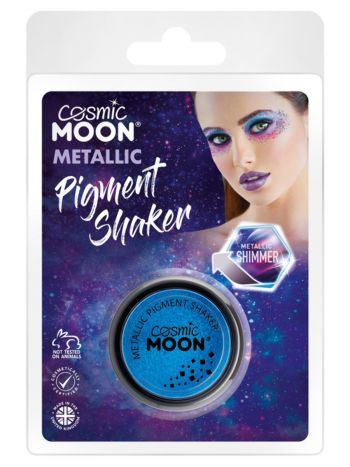 Cosmic Moon Metallic Pigment Shaker, Blue