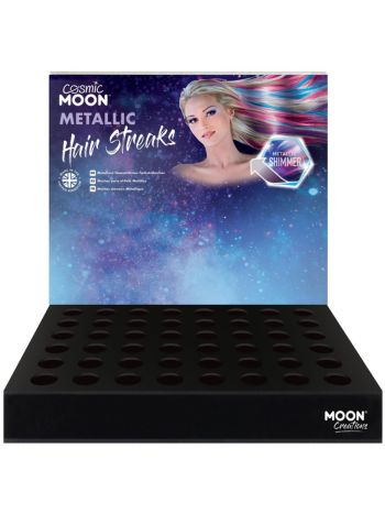 Cosmic Moon Metallic Hair Streaks,