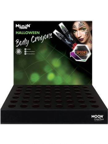 Moon Terror Halloween Body Crayons, Assorted