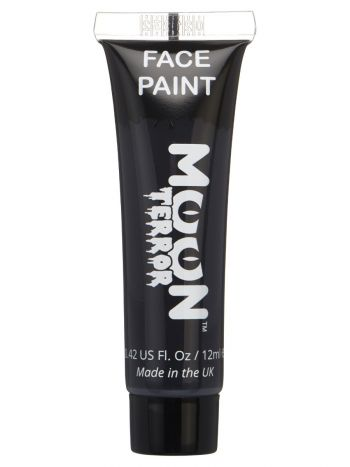 Moon Terror Halloween Face & Body Paint, Black