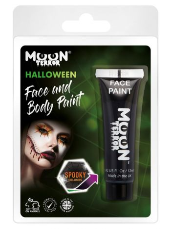 Moon Terror Haloween Face & Body Paint, Black