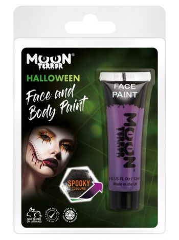 Moon Terror Halloween Face & Body Paint, Purple