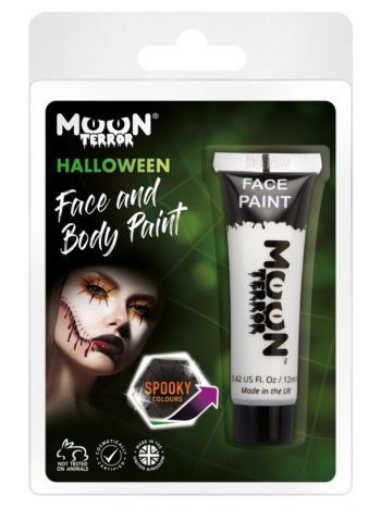 Moon Terror Halloween Face & Body Paint, White