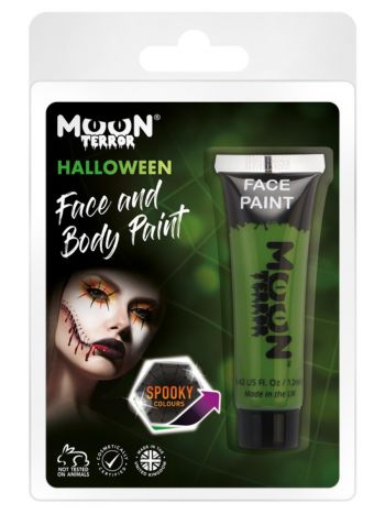 Moon Terror Halloween Face & Body Paint, Green