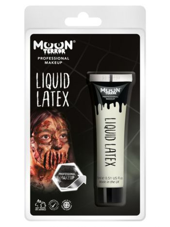 Moon Terror Pro FX Liquid Latex Clamshell, White