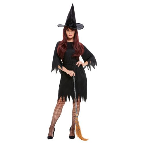 Spooky Witch Costume, Black