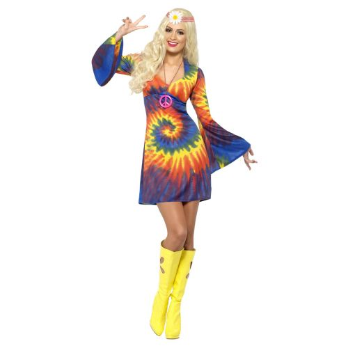 1960s Tie Dye Costume, Psychedelic