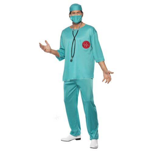 Surgeon Costume, Green