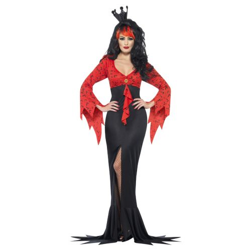 Evil Queen Costume, Red & Black