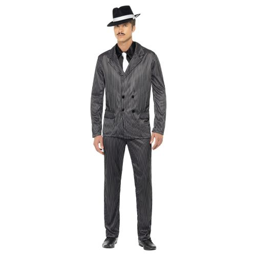 Gangster Costume, Black