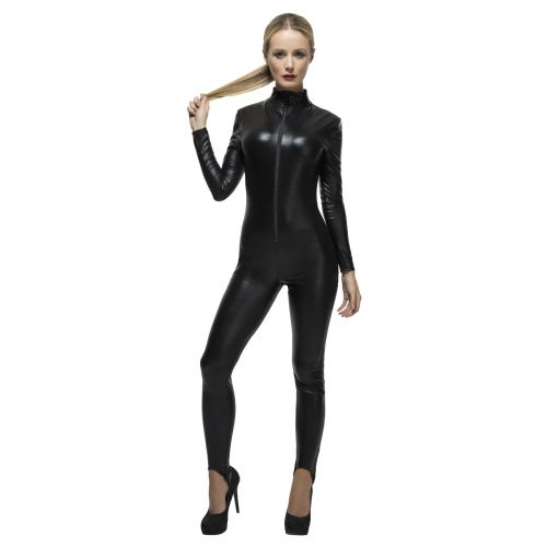 Fever Miss Whiplash Costume, Black