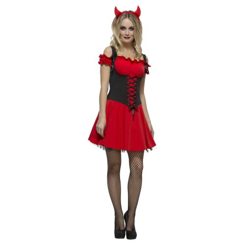 Fever Wicked Devil Costume, Red